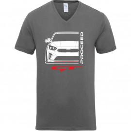 Kia Proceed GT 2019 Outline Modern V-Neck