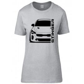 Kia Stinger GT-Line 2.0 Outline Modern T-Shirt Lady
