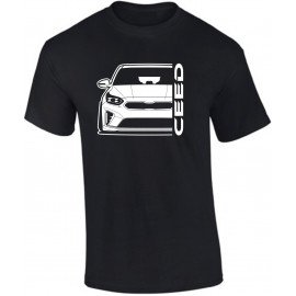 Kia Ceed 2019 Outline Modern T-Shirt