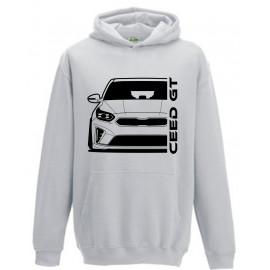 Kia Ceed GT 2019 Outline Modern Hoodie
