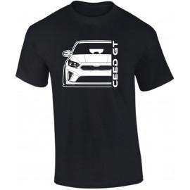 Kia Ceed GT 2019 Outline Modern T-Shirt