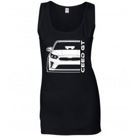 Kia Ceed GT 2019 Outline Modern Lady Tank Top
