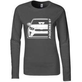Kia Proceed GT 2019 Outline Modern Longsleeve Lady