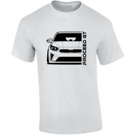 Kia Proceed GT 2019 Outline Modern T-Shirt