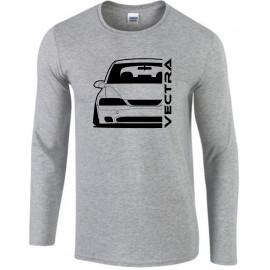 Opel Vectra B Nebler Outline Modern Longsleeve Shirt