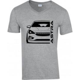 Opel Astra K Outline Modern V-Neck