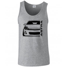 Opel Astra H Modern Outline Outline Tank Top