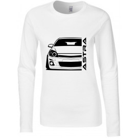 Opel Astra H Modern Outline Longsleeve Lady