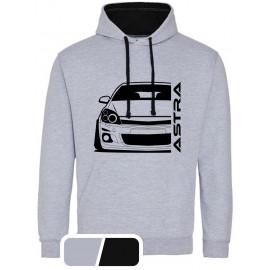 Opel Astra H Modern Outline Hoodie Varsity