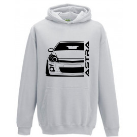Opel Astra H Modern Outline Hoodie