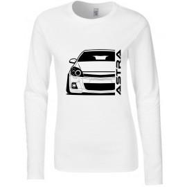 Opel Astra H OPC Modern Outline Longsleeve Lady