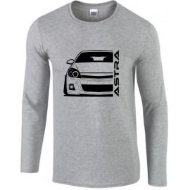 Opel Astra H OPC Modern Outline Longsleeve Shirt