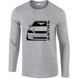 Opel Astra G Modern Outline Longsleeve Shirt