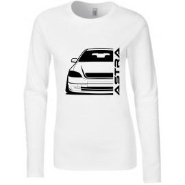 Opel Astra G Modern Outline Longsleeve Lady