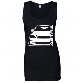 Opel Astra G Modern Outline Tank Top Lady
