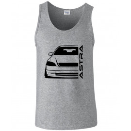 Opel Astra G Modern Outline Outline Tank Top