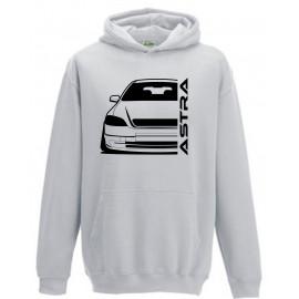 Opel Astra G Modern Outline Hoodie