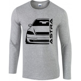 Opel Astra G Foglight Modern Outline Longsleeve Shirt