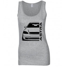Opel Astra G Foglight Modern Outline Tank Top Lady