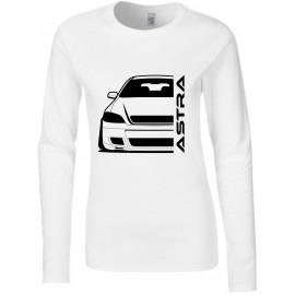 Opel Astra G OPC Modern Outline Longsleeve Shirt