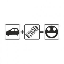 Auto (plus) Fahrwerk (gleich) Stance