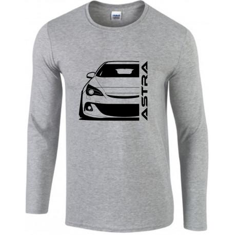 Opel Astra J OPC Modern Outline Longsleeve Shirt