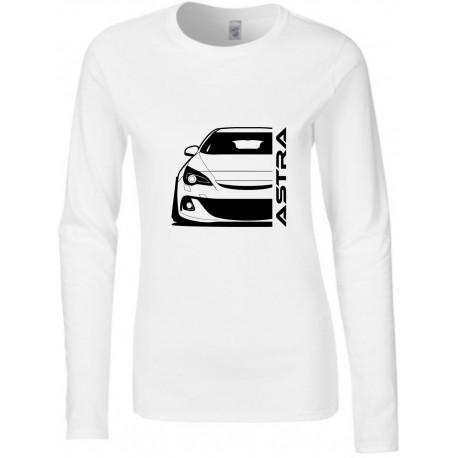Opel Astra J OPC Modern Outline Longsleeve Lady