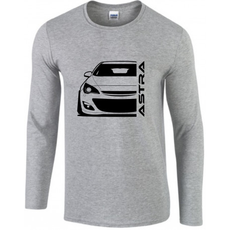 Opel Astra J Modern Outline Longsleeve Shirt
