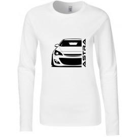 Opel Astra J Modern Outline Longsleeve Lady
