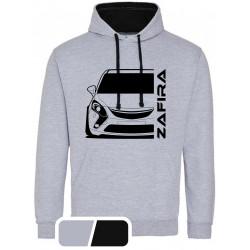 Opel Zafira C Tourer Modern Outline Hoodie Varsity