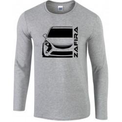 Opel Zafira C Tourer Modern Outline Longsleeve Shirt