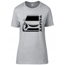 Opel Zafira C Tourer Outline Modern T-Shirt Lady