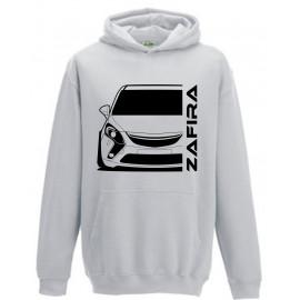 Opel Zafira C Tourer Outline Modern Hoodie