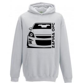 Opel Zafira B OPC Outline Modern Hoodie