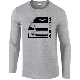 Opel Astra G Cabrio Modern Outline Longsleeve Shirt
