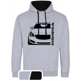 Opel Insignia A Sports Tourer Modern Outline Hoodie Varsity