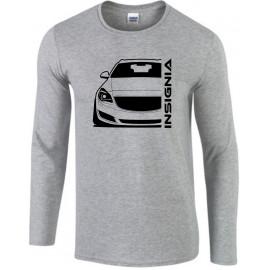 Opel Insignia A Sports Tourer Modern Outline Longsleeve Shirt