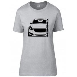 Opel Insignia A Sports Tourer Outline Modern T-Shirt Lady