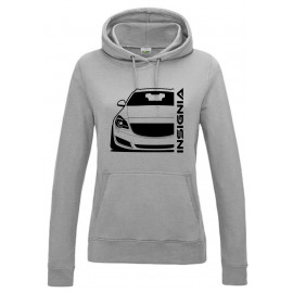 Opel Insignia A Sports Tourer Outline Modern Hoodie Lady
