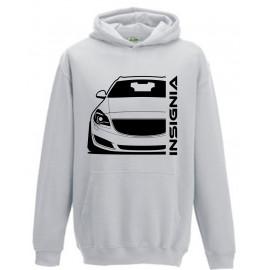 Opel Insignia A Sports Tourer Outline Modern Hoodie