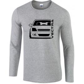 Opel Vectra C Modern Outline Longsleeve Shirt