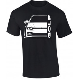 VW Golf MK8 2020 Modern Outline T-Shirt