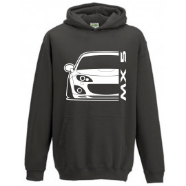 Mazda MX5 Typ NC 05-15 Modern Outline Hoodie