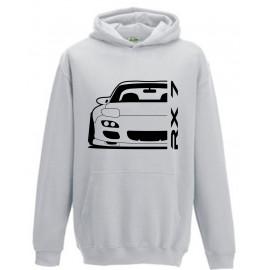 Mazda RX7 FD Outline Modern Hoodie