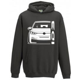 VW Volkswagen ID3 Modern Outline Hoodie