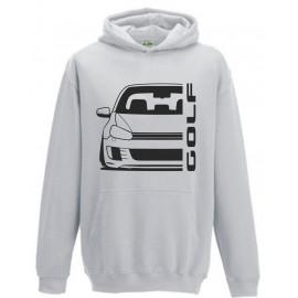VW Volkswagen Golf 6 Typ 1K GTD 08-13  Outline Modern hoodie