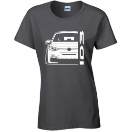 VW Volkswagen ID3 Modern Outline T-Shirt Lady