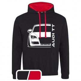 Audi TT 06-14 8J  Modern Outline T-Shirt Hoodie Varsity