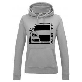 Audi TT 06-14 8J  Modern Outline T-Shirt Hoodie Lady