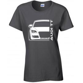 Audi TT 06-14 8J  Modern Outline T-Shirt Lady